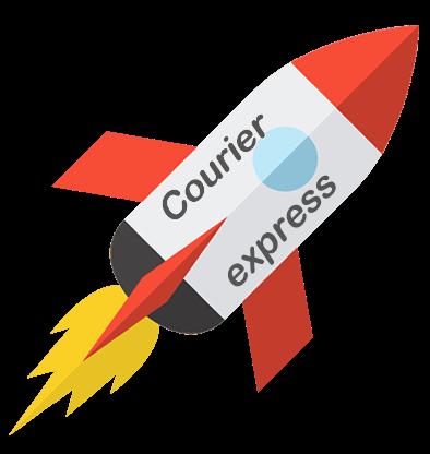 Frete Expresso de Courier (DHL Express, Fedex e TNT) – Receba sua encomenda em até 7 dias