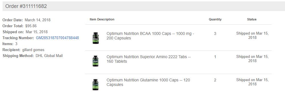 suplementos importados Vitacost Brasil
