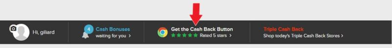 Ebates no Google Chrome