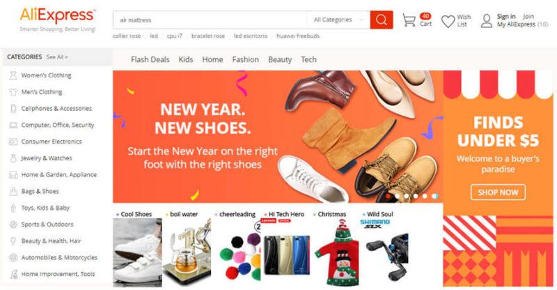 2fb768eed 10 sites de compras online da China mais barato e confiáveis (2019)