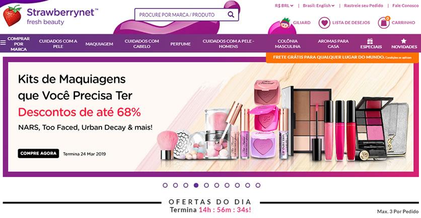 StrawberryNet - melhor site de compras de perfume e maquiagem da China