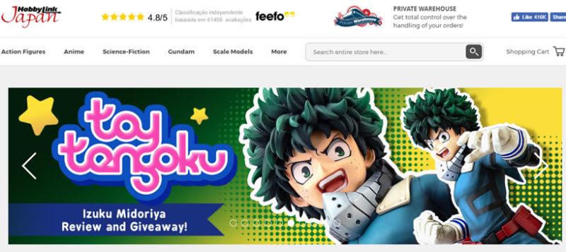 HobbyLink Japan comprar colecionaveis no japao