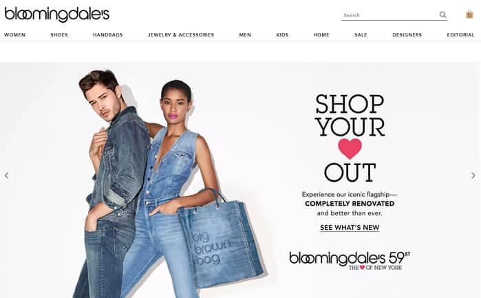 bloomingdales sites de compras de roupas eua