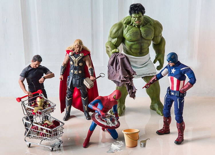 bonecos marvel action figures