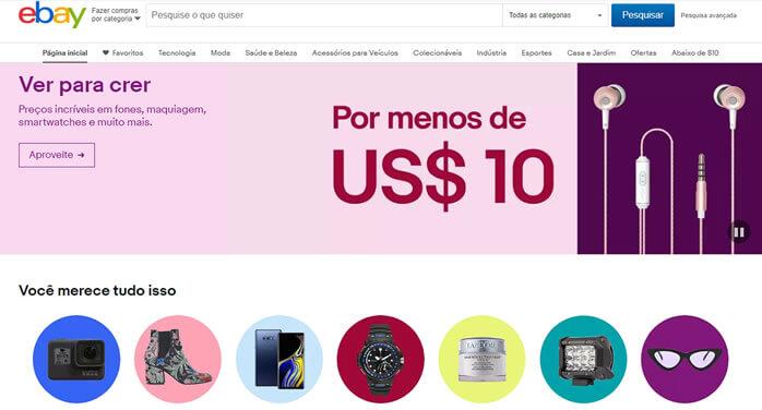 ebay - maior para comprar nos estados unidos