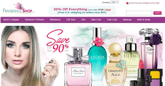fragranceshop - site de compra de perfumes originais