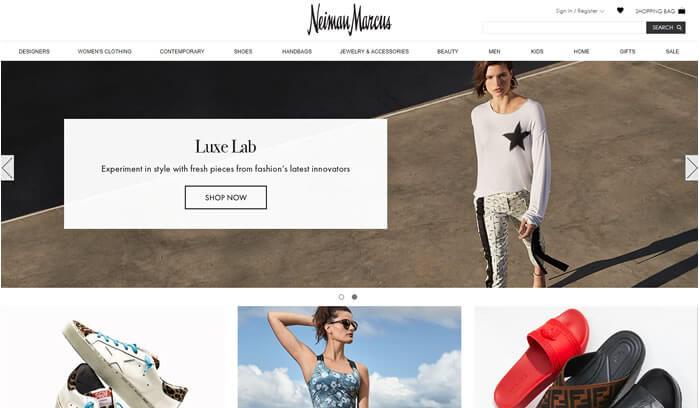neimanmarcus -  site de compras americano