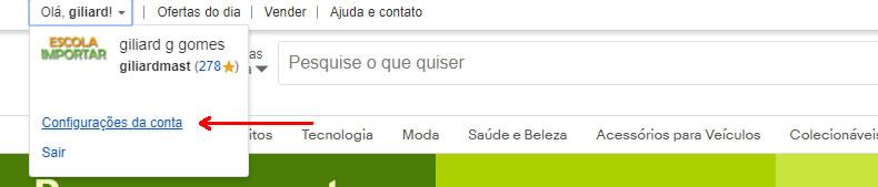 eBay Brasil em português e preços em real