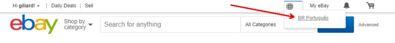 ebay portugues preços em real