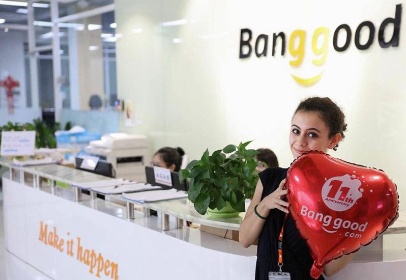 site Banggood é confiável