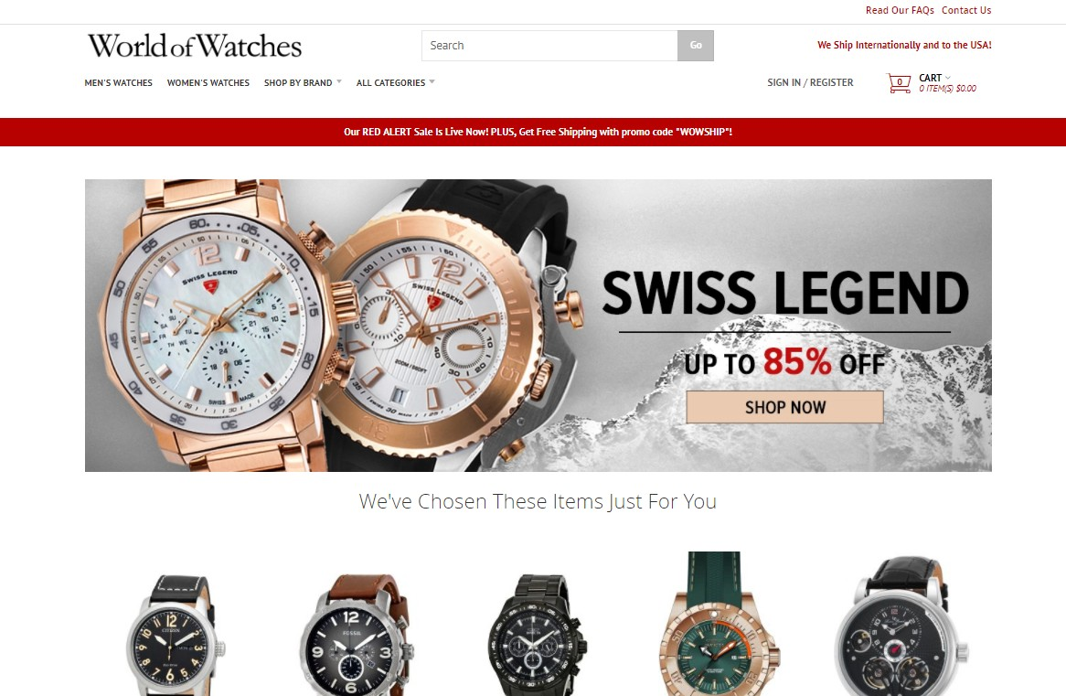 Loja World of Watches