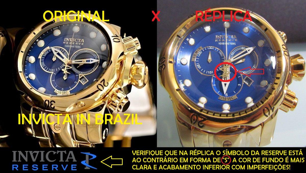 importação de réplicas de relógios
